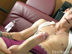 Boy has a nice big cock for masturbation
