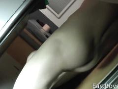 Young boy demonstrates the lavish cum